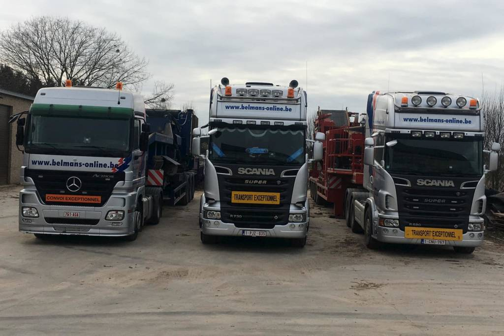 Photo des camions Mercedes-Benz Actros, Scania R730, Scania R620