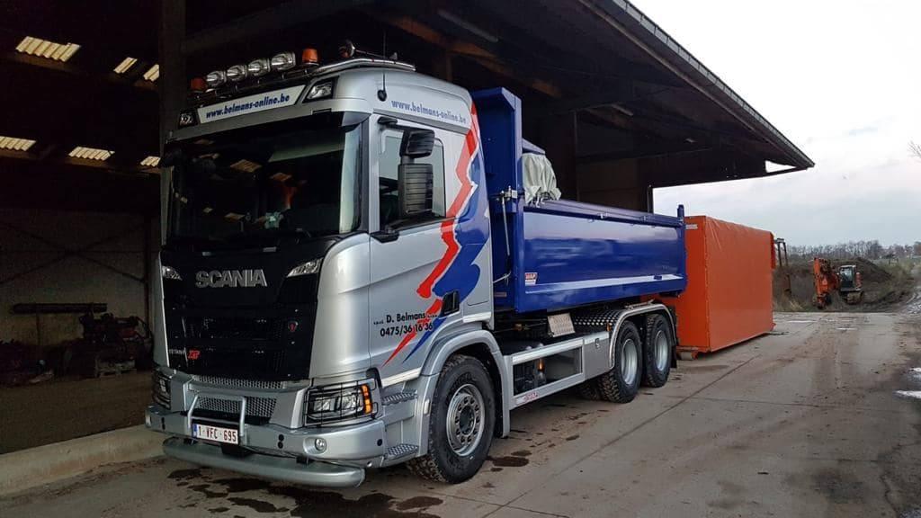 Vrachtwagen 6X4 Scania R 500