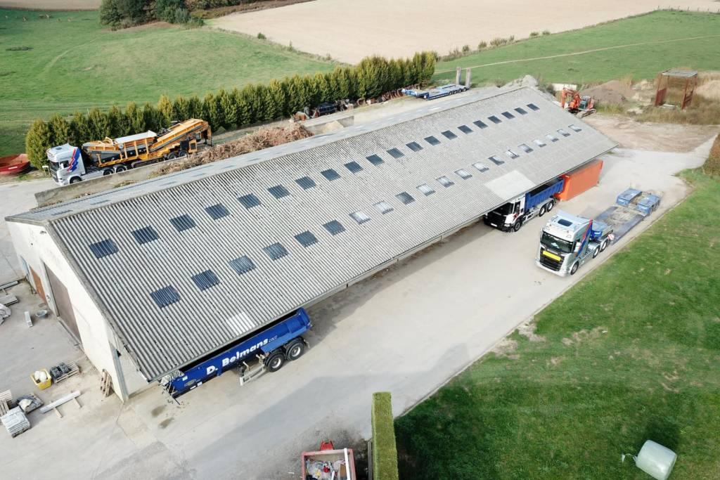 Belmans Recycling - Vue Hangar