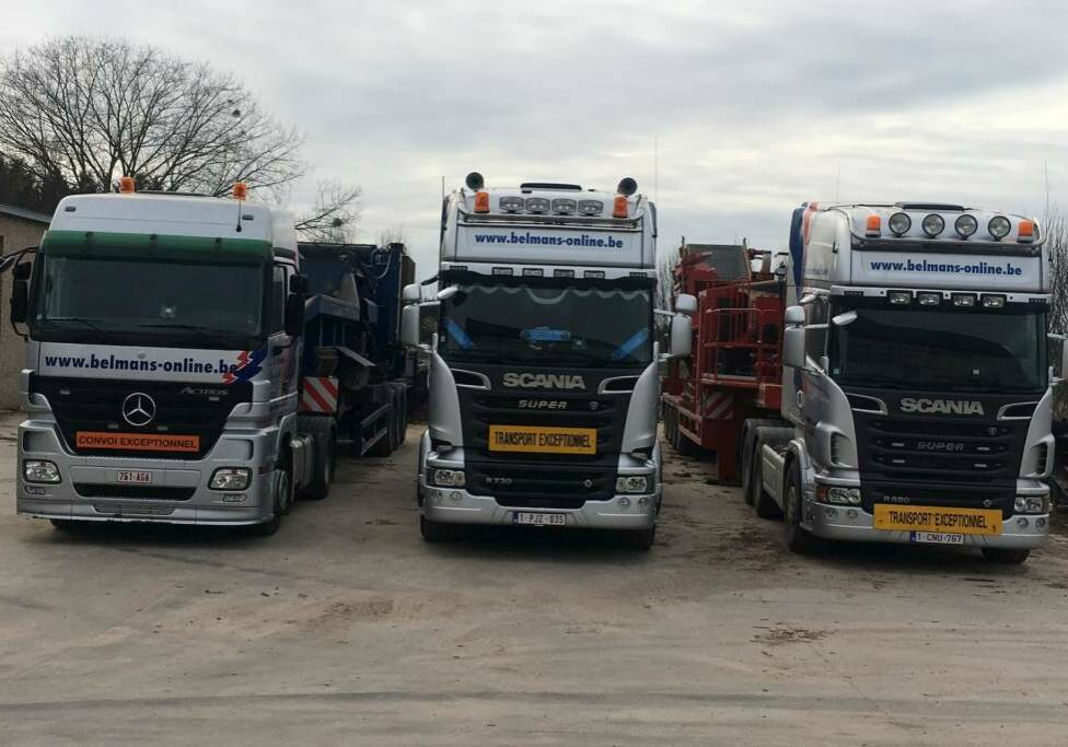 Photo des camions Mercedes-Benz Actros, Scania R730, Scania R620
