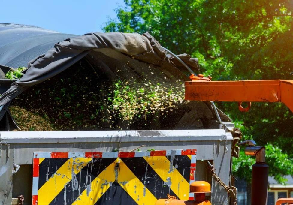 Belmans Recycling - Services - Broyage Végétaux