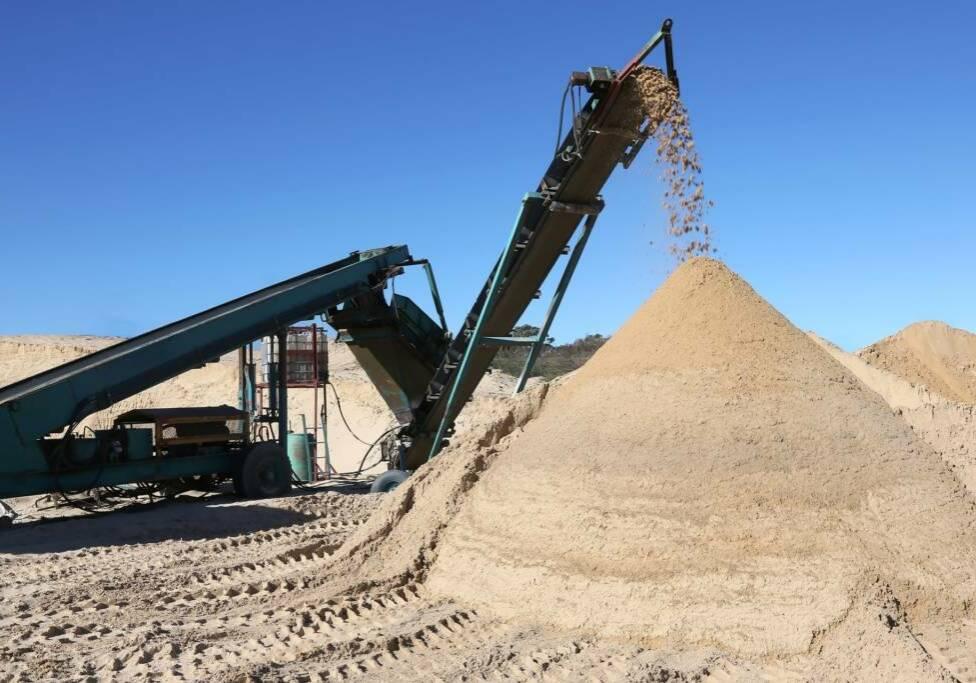 Belmans Recycling - Services - Criblage Sable Sur Mesure