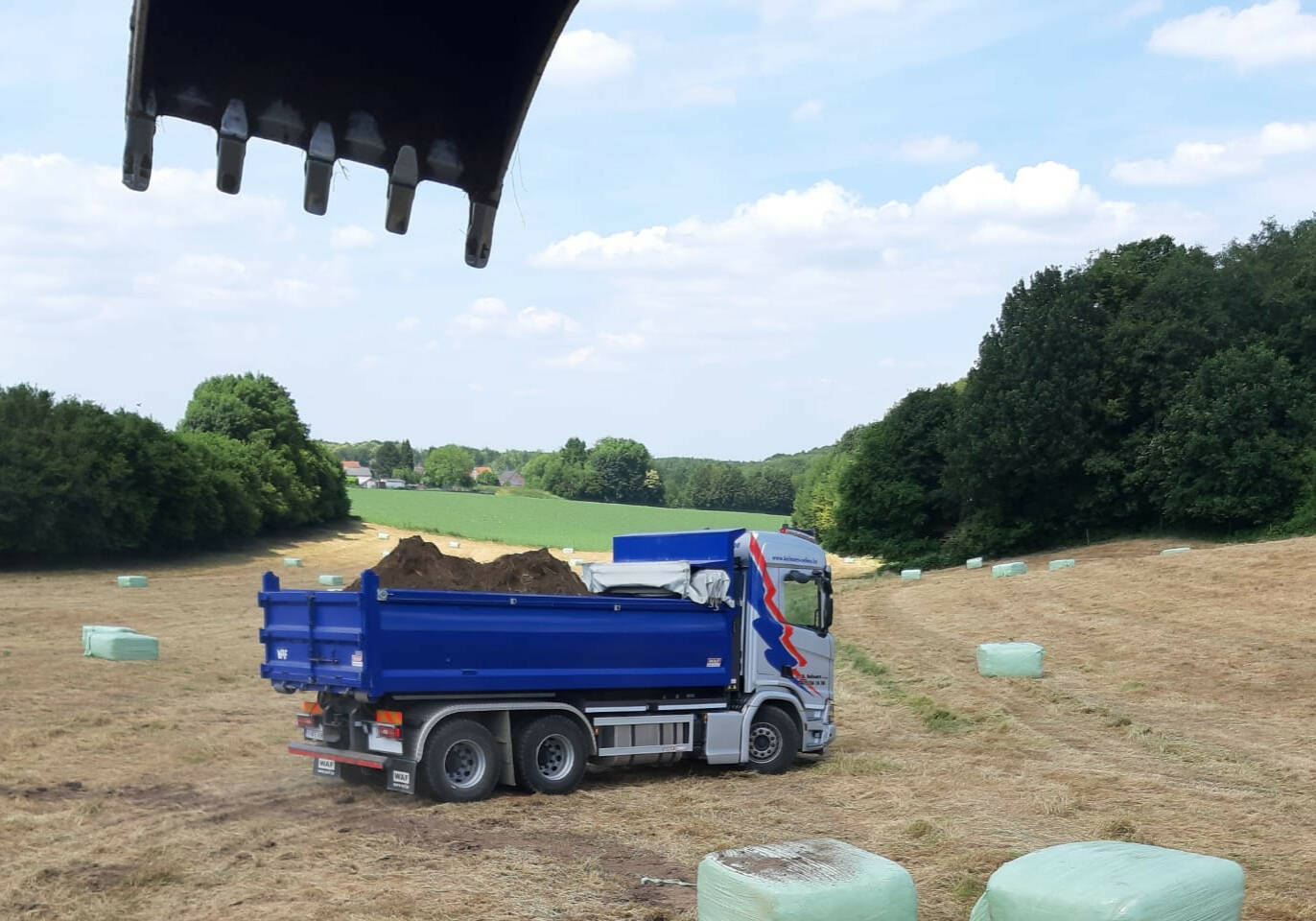 Belmans Recycling - Services - Terrassement